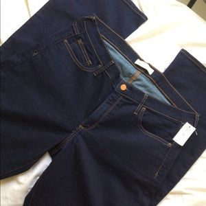 NWT Gap Blue Baby Boot Jeans. Size 33R.